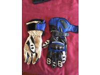 FRANK THOMAS MOTORBIKE GLOVES