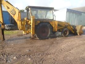JCB 3C mk2 and MF50 diggers
