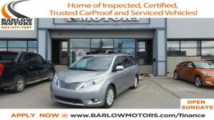 2011 Toyota Sienna LIMITED AWD (MASSIVE BLOWOUT)