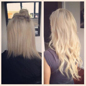Hair Extensions Micro Rings, Tape-in, Bonds - Xmas Appointments