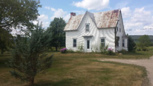 Older Style Farmhouse For rent