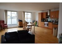 Spacious ensuite in central London flat with living room/balcony