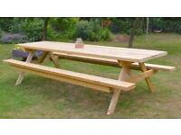 3 meter Garden Table (New)