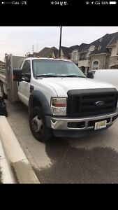 Ford f550 truck for sale with extended back hood