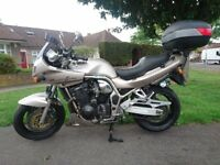 suzuki bandit 1200 fresh mot new battery 2 keys back box ready to go