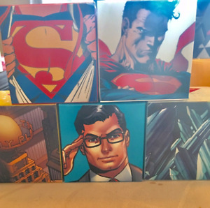 Superman coins silver from 2013,14 & 15