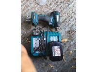 impact drill/batery/charger/makita