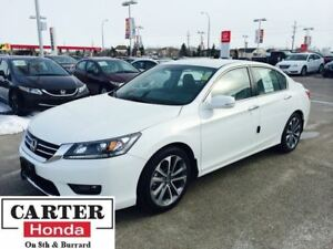 2014 Honda Accord Sport + ALLOYS + ACCIDENT FREE + CERTIFIED!