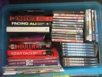 Job lot of books and dvds , idea for car boot sale