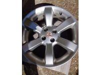 MG Alloy wheels