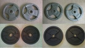 Olympic 20kg and 15kg weight plates