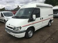 Ford TRANSIT 280 SWB TD Auto sleeper (2002) 4 birth