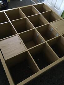 Ikea storage unit; cube