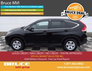 2014 Honda CR-V LX 2.4L 4 CYL i-VTEC AUTOMATIC AWD BLUETOOTH CON