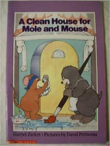 """Big Book: """"A Clean House for Mole and Mouse"""""""