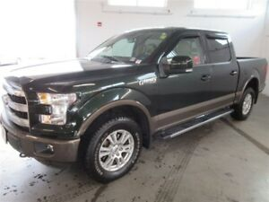 2015 Ford F-150 Lariat! SUPERCREW 4x4! Back-Up! Alloy! Nav! !