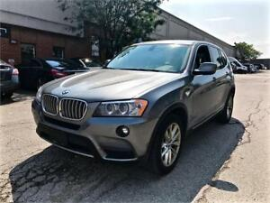 2013 BMW X3 35i, NAVI, PANO ROOF, NO ACCIDENT, LOW MILEAGE