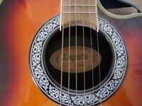 Electro Acoustic guitar (Legato) RV120E/3TS, good condition. Sell for £80