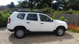 Dacia Duster - white, low mileage