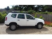 Dacia Duster - white, low mileage