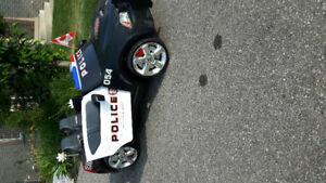 Dodger Charger Police Power Wheels car