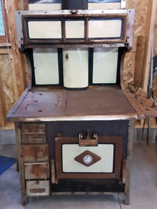 Antique Wood Stove - REDUCED!