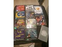 PlayStation games lot