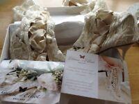 Bridal lace boots