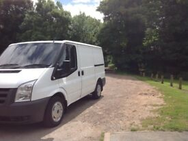Ford transit 11 plate 120k on clock