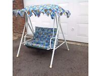 Children's garden swing seat