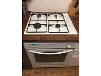 Integrated cooker hobs and hood