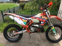 Ktm 250exc 2015 factory addition.. road reg. not crf yzf kxf rmz