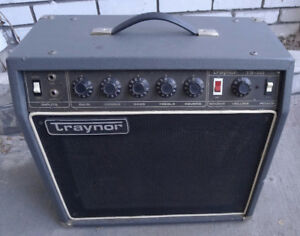 Traynor TS-50 Guitar Amp combo 1981 classic $260
