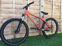 Kona scrap hardtail jump bike, HIGH SPEC, MARZOCCHI