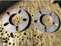 Used 2* 10mm BMW ALLOY WHEEL SPACERS