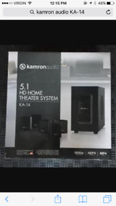 Home theatre sound system  5.1 HD