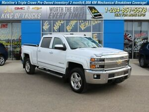 2015 Chevrolet Silverado 2500HD LTZ  - Leather Seats -  Bluetoot