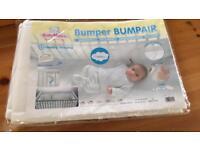 Maltex breathable cot bumper