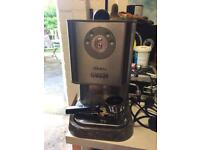 Gaggia Baby Twin coffee machine. Espresso machine.