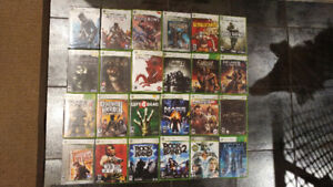 Xbox 360 games $5 each or 5 for $20