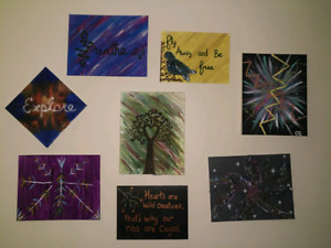 Acrylic paintings for sale !