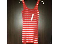 Brand new red herring vest top size 12