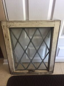 Antique/vintage Leaded glass window