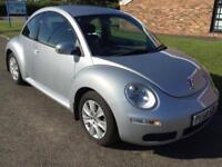 2010 60 Volkswagen Beetle 1.4 16V Luna 3 Door hatchback Silver