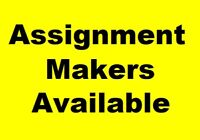 Assignment Making Services by Experts at $7.99 per page