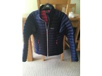 Ladies RAB quilted micro jacket size 10.