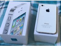 iPhone 4s white boxed