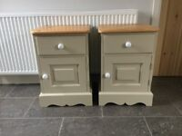 Lovely Pair of Pine Bedside Cabinets