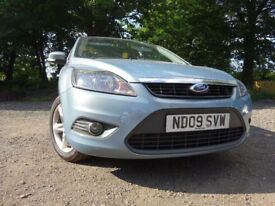 09 FORD FOCUS ZETEC 1.6,MOT MAY 018,2 OWNERS FROM NEW,2 KEYS,PART HISTORY,VERY RELIABLE FAMILY CAR