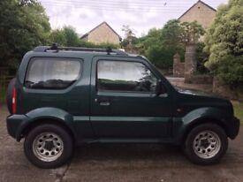 Suzuki Jimny 1.3lt, Petrol, Green, 1999